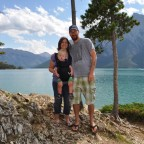 The Karpiuks Lake Minnewanka Banff National Park Summer 2012