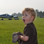 liam excited to see planes