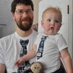 Matching Star Wars Tie Shirts