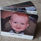 Liam's Family - personalized board book