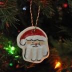 liam hand print santa ornament